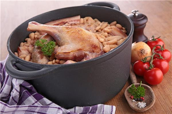 Cassoulet with Goose Confit