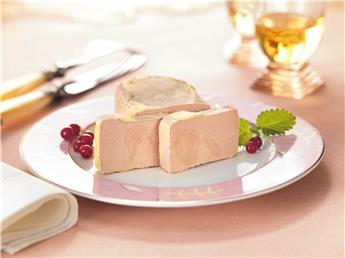 Block of Goose Foie Gras from the Périgord with 30% Pieces