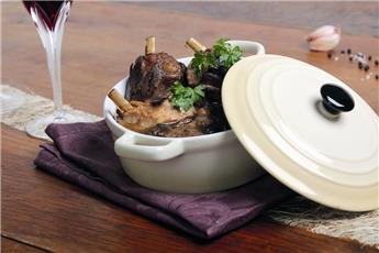 Duck Salmis with Ceps and Cahors Wine Sauce