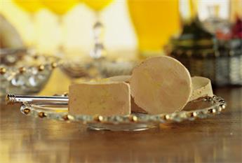Block of Duck Foie Gras from the South-West with 30% Pieces Half-Cooked